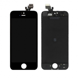 iPhone 5 Frontscheibe Montage - Schwarz