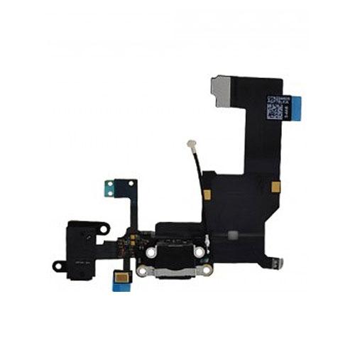 iPhone 5 Audio Flex / Lightning Dock Connector Flex + Mic weiss