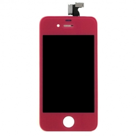 iPhone 4S Magenta komplette Frontscheibe Display