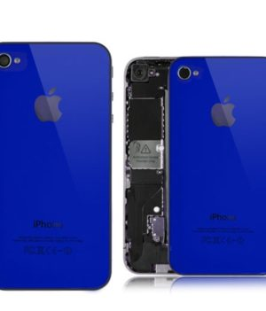 iPhone 4 Backcover / Rückseite - Blue