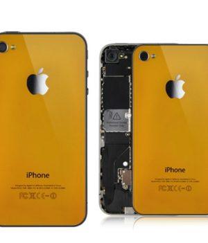 iPhone 4 Backcover / Rückseite - Orange