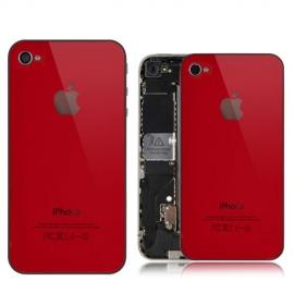 iPhone 4 Backcover / Rückseite - Rot
