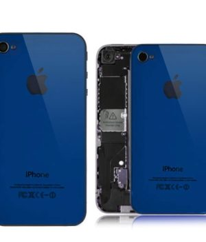 iPhone 4 Spiegel Backcover / Rückseite - Blau