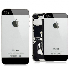 iPhone 4S Backcover im iPhone 5 Look / Grau