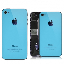 iPhone 4S Backcover / Rückseite - Baby Blau