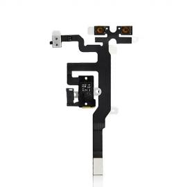 iPhone 4S Headphone Audio Jack Flexkabel mit weisser Kopfhörerbuchse
