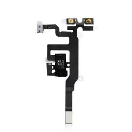 iPhone 4S Headphone Audio Jack Flexkabel mit schwarzer Kopfhörerbuchse