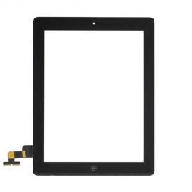 iPad 2 Touchscreen Glas Digitizer - Schwarz (vormontiert)