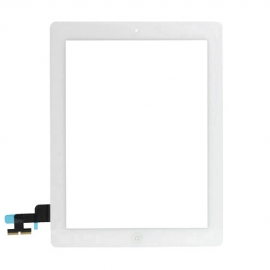 iPad 2 Touchscreen Glas Digitizer - Weiss (vormontiert)