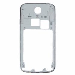 OEM Samsung Galaxy S4 Mittelrahmen + Power Button Lautstärketasten - Silber