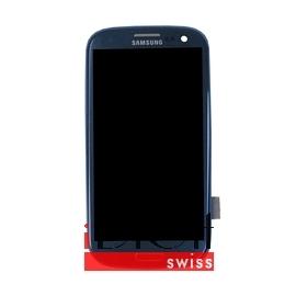 Samsung Galaxy S3 i9300 LCD und Digitizer Front + Rahmen - Pepple Blue