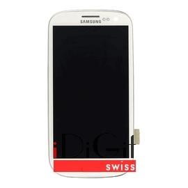 Samsung Galaxy S3 i9300 LCD und Digitizer Front + Rahmen - Weiss