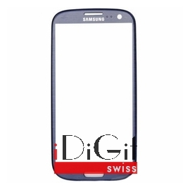 Samsung Galaxy S3 i9300 Glas - Blau