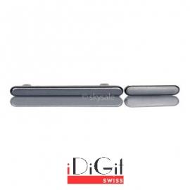 2 Tasten Knöpfe Button Set mit Power + Volumen Taste für Samsung Galaxy S3 i9300 - Silber
