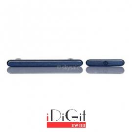 2 Tasten Knöpfe Button Set mit Power + Volumen Taste für Samsung Galaxy S3 i9300 - Pepple Blue