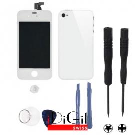 iPhone 4 Umbauset mit Tool Kit - Weiss